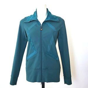 Lululemon Vintage Teal Origami Stride Jacket
